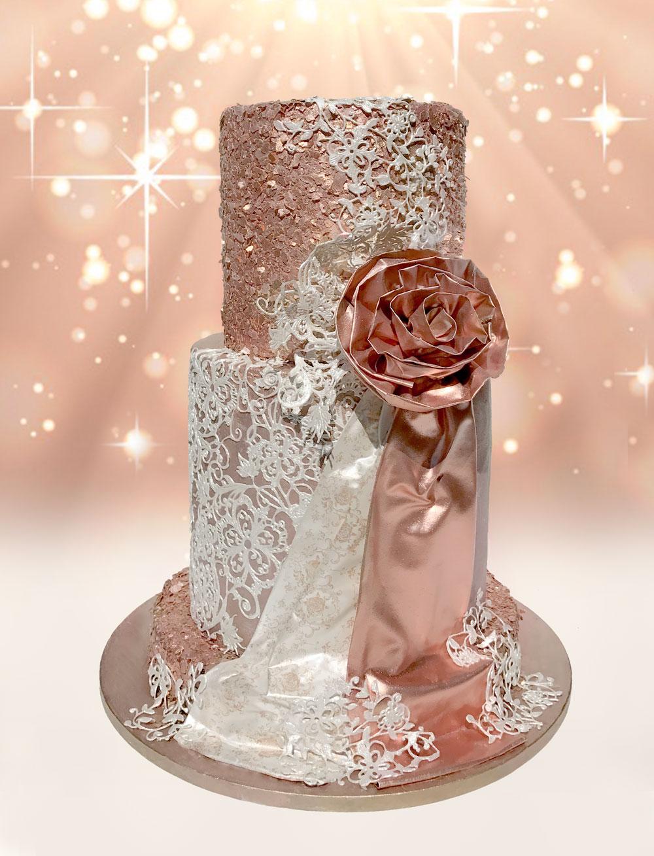 Rose Gold Love - Edible Flake Set