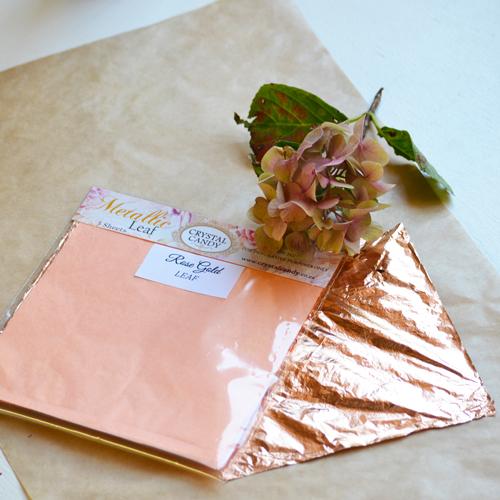 Rose Gold Leaf