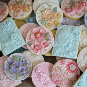 Cookie & Cupcake Bas-Relief Moulds